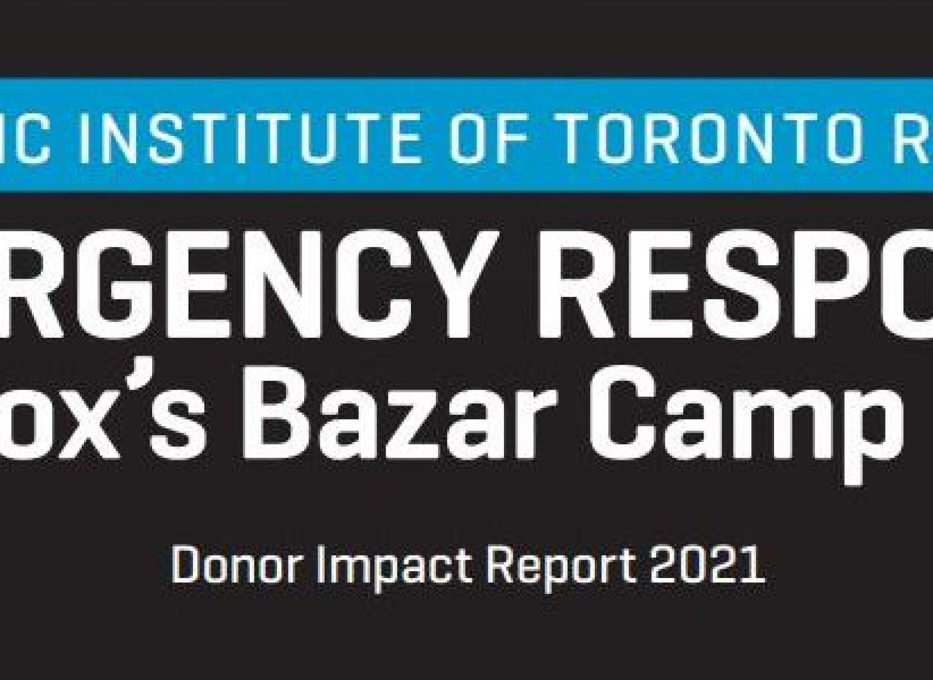 IRC-Islamic Institute of Toronto Report